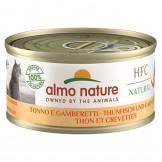 Almo Nature HFC Natural Thunfisch und Garnelen 70g