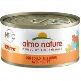 Almo Nature Kitten mit Huhn 70g