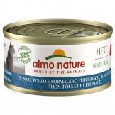 Almo Nature HFC Natural Thunfisch, Huhn und Käse 70g