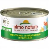Almo Nature Thunfisch und Mais 70g
