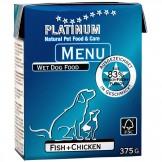 Platinum Menu Fish+Chicken 375g