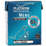 Platinum Menu Fish+Chicken 375g