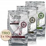 Platinum TRIO Adult Chicken 10kg+Iberico 10kg+Lamb&Rice 10kg
