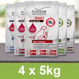 Platinum Vorteilspack 20 kg (4x5kg)