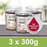 Platinum Vorteilspack Snacks 3 Dosen (3x300g)