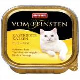 Ani. Cat v. Fein. Kastr. Katzen Pute & Käse 100g