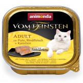 Animonda Cat v. Fein. Schlemmerkern Pute + Rindfleisch 100g