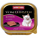 Animonda Cat v. Feinsten Kitten mit Lamm 100g
