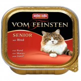 Animonda Cat v. Feinsten Senior mit Rind 100g