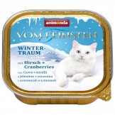 Animonda Cat v. Feinsten Wintertraum Hirsch+Cranberries 100g