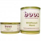 Boos Wild Menü