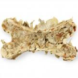Bow Wow Natural Rinderhaut-Knochen mit Gemüse 1 Stück