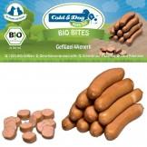 Cold & Dog Bio Bites Geflügel-Wienerli 10 Stück/200g