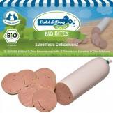 Cold & Dog Bio Bites Schnittfeste Geflügelwurst 150g