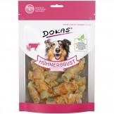 Dokas Dog Snack Hühnerbrust Kaurolle 250g
