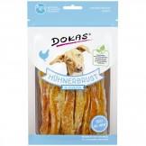 Dokas Dog Snack Hühnerbrust in Streifen 70g