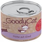 GoodyCat Dose Senior Huhn mit Rind 180g