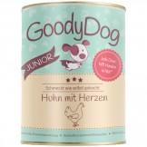 GoodyDog Dose Junior Huhn mit Herzen 380g