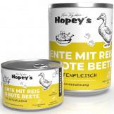 Hopey's Ente mit Reis und Rote Beete