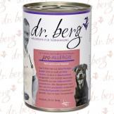 Dr. Berg pro-ALLERGIE Hund mit Lamm und Maniok 400g