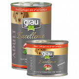 Grau Excellence ADULT Rind, Geflügel mit 4er lei Gemüse