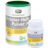 Grau Kräuter-Hefe-Pulver