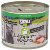 Grau Schlemmertöpfchen Geflügel und Wild