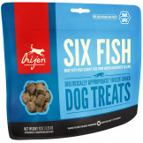 Orijen Freeze-Dried Dog Treats Six Fish