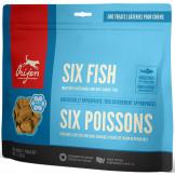 Orijen Freeze-Dried Dog Treats Six Fish