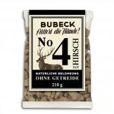 Bubeck Getreidefreier Snack Nr. 4 mit Hirsch 210g