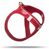 Curli Geschirr Magnetic Vest Air-Mesh, red