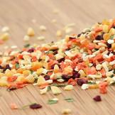 Futterfreund Gemüsemischung Nr.2, geraspelt
