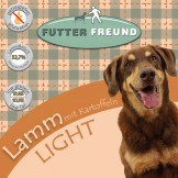 Futterfreund Trockenfutter Lamm LIGHT