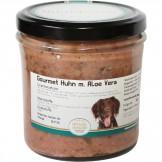 Hundegenuss Huhn mit Aloe Vera 300g im Glas