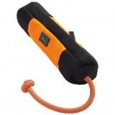 Hunter Trainer Snack Dummy mit Seil, Gr.M 37cm, orange/schw.
