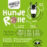 Purbello HundeRolle Pferd mit Roter Beete und Fenchel