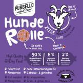 Purbello HundeRolle Ziege mit Möhren und Kräutern