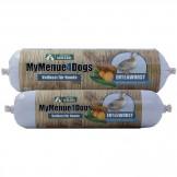 MyMenue4Dogs Entenwurscht mit Süßkartoffel und Zucchini