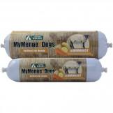 MyMenue4Dogs Lammwurscht mit Kartoffeln und Karotten