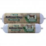 MyMenue4Dogs Wildwurscht mit Zucchini