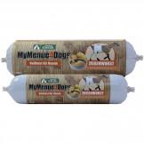 MyMenue4Dogs Ziegenwurscht mit Kartoffeln und Amaranth