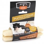 QCHEFS Dental Fitness Cheese Sticks gepufft, 3er Pack (72g)