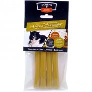 QCHEFS Dental Fitness Cheese Sticks hart, 4er Pack (100g)