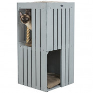BE NORDIC Cat Tower Juna, 77cm, grau
