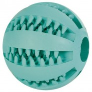DENTAfun Baseball, Mintfresh, Naturgummi, 5 cm
