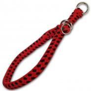 DINO Halsband/Stoppwürger 10mm aus Baumwolle, L