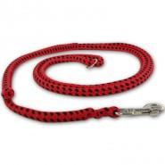 DINO Hundeleine 10mm aus Baumwolle, Easy-Locking-System