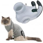 OP-Body für Katzen, grau