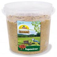 JR Farm Bark-Butter Regenwürmer 2 kg