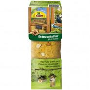 JR Farm Garden Peanut Bar Erdnussbutter mit Nüssen 350g